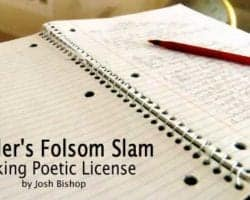 Boulder's Folsom Slam: Taking Poetic License 6